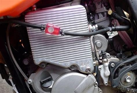 Ktm 525 Cooler Htr Cooler On A 2010 Ktm 530 Exc With An Acerbis 6