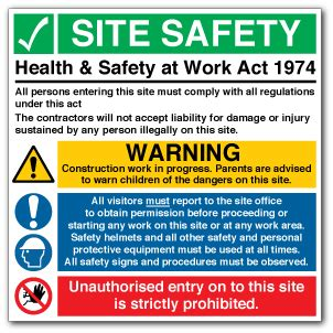 health and safety at work act 1974 section 8 site safety health safety at work act 1974 direct signs