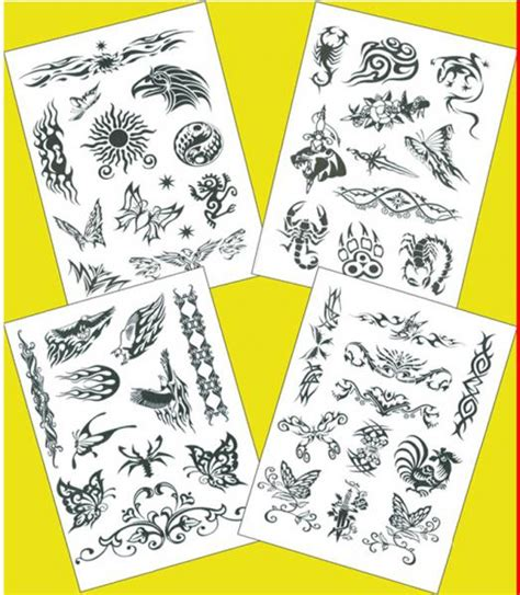 inkjet tattoo paper cheap diy inkjet temporary tattoos inkjet of hzgy