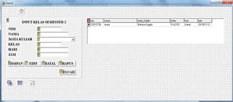 Matematika Diskrit By Tb Moralin program aplikasi input mata kuliah di delphi 7 my