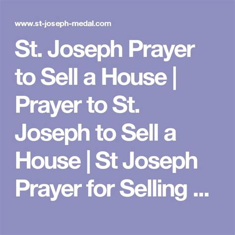 st joseph prayer to sell house 1000 ideas about novena to st joseph on pinterest st joseph saint joseph and