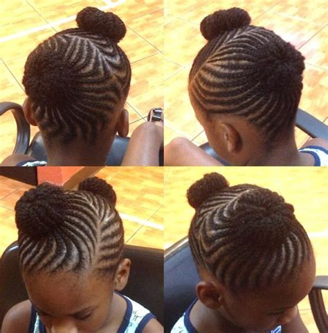 hairstyle with two corn row with bun to the side 182 best images about natural hairstyles on pinterest