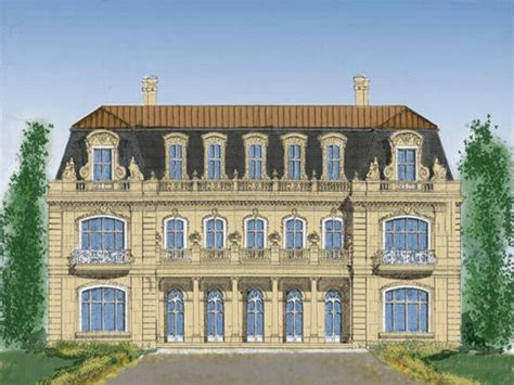 chateau home plans chateau mansion home plans country mansions