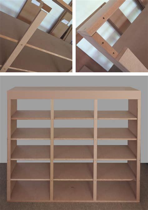 ladder bookcase diy home dzine home diy diy library bookcase with ladder