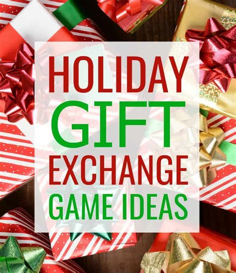 5 awesome holiday gift exchange games to play happy go lucky