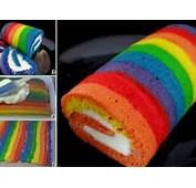Les Meilleures Recettes De Rainbow Cake