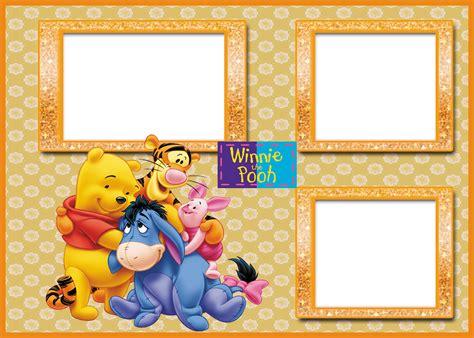 imagenes de winnie the pooh para descargar gratis marcos para fotos de winnie the pooh para bebs png marco