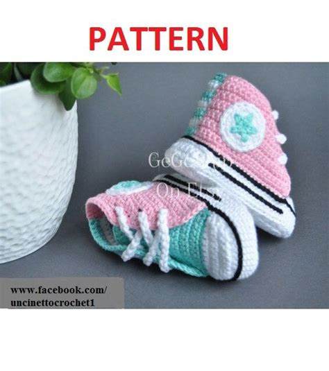 converse knitted booties pattern 25 best ideas about crochet converse on