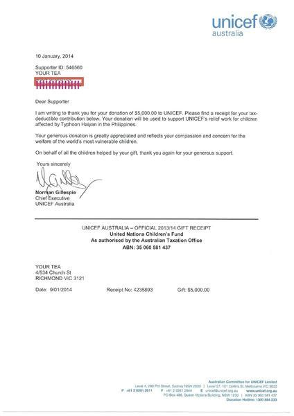 Charity Letter Sle by Nanopics Pictures Sles Of Thank You Letter For Donations