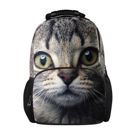 Catty Bagpack Tas Ransel Kucing buy fashion backbag 3d animal backpacks cat owl