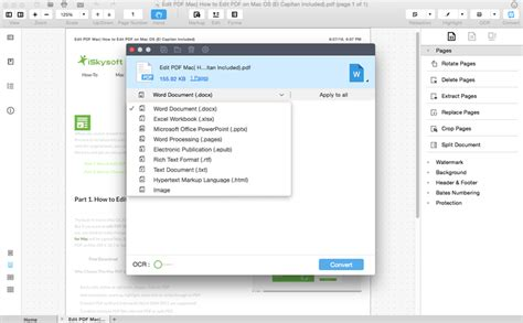 convert pdf to word apple pdf to word mac how to convert pdf to word on mac macos
