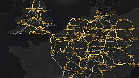 mod map game euro truck simulator 2 world of the game map euro truck simulator 2 game