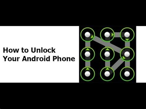 how to unlock pin pattern lock password on android device unlock videolike