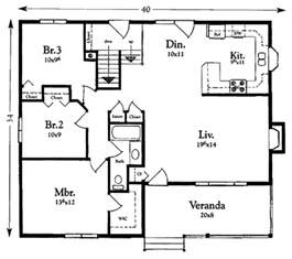 Basement Floor Plans 1200 Sq Ft Cottage Style House Plan 3 Beds 1 Baths 1200 Sq Ft Plan