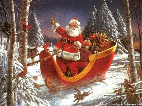 images of christmas father santa claus pics 01
