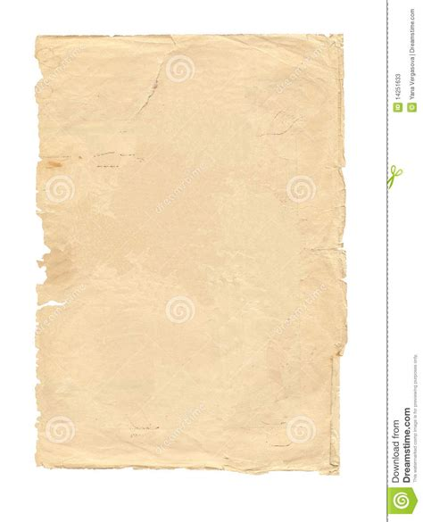 Of Paper - of paper isolated stock illustration image