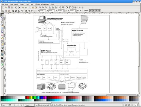 inkscape tutorial technical drawing xfig a classic program for diagram editing