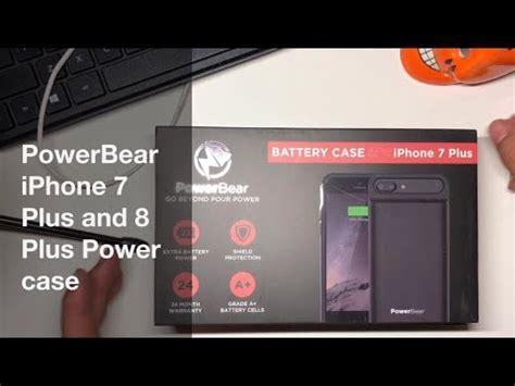 power bear  mah battery case  iphone