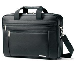 Samsonite Shows Their Collaboration With Mcqueen 2 by Samsonite 43268 1041 Classic Two Gusset Briefcase Fits