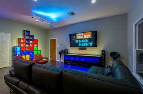 video game bedroom creating a basement game room 4 tips and 26 exles
