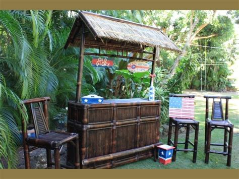 Cing In Backyard Ideas by 24 Best Images About Outdoor Tiki Bar On