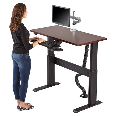desk stand stand up and adjustable tables in portland or desks inc