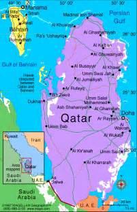 Qatar On World Map by Qatar Map Political Regional Maps Of Asia Regional