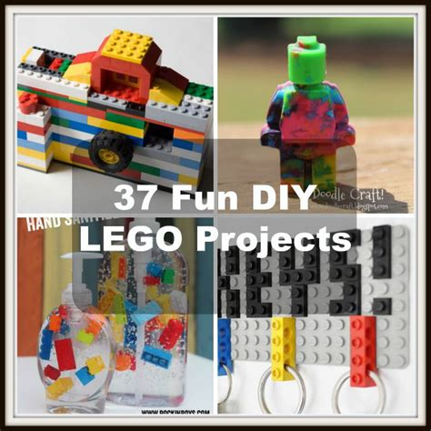 lego crafts for 37 diy lego projects your can build