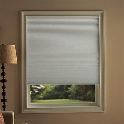 room darkening cellular shades kirsch honeycomb room darkening window shades in snow bedbathandbeyond