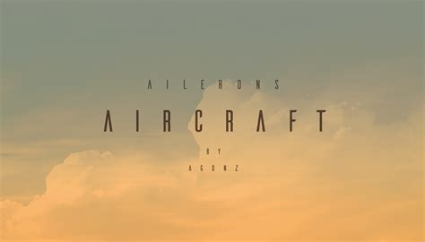 designmantic font ailerons typeface on behance