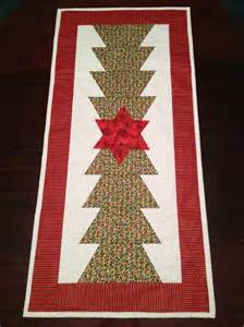 you have to see christmas tree table runner on craftsy