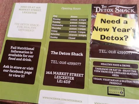 Detox Restaurant by The Detox Shack Leicester Restaurant Reviews Phone
