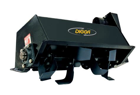Garden Hoe Types - digga mini rotary tiller for mini machines small skid steer loaders earthmoving machinery