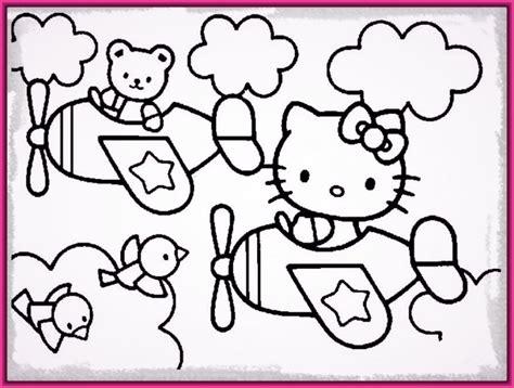 dibujos infantiles kitty dibujos para colorear e imprimir de hello kitty muy