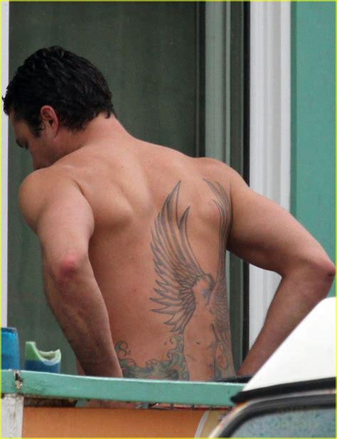 tattoo on kinney s back taylor kinney images shirtless taylor kinney lady gaga s
