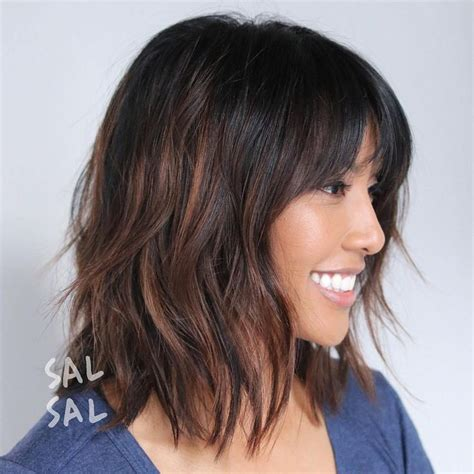 brunette shag hairstyle best 25 brunette bob haircut ideas that you will like on