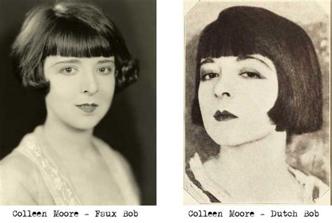 colleen christy chopped hairstyle 1920s hairstyle colleen moore bobs her hair art deco