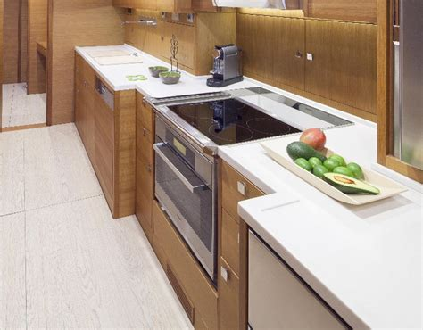 induction hob yacht yacht galley ovens hobs microwaves gn espace
