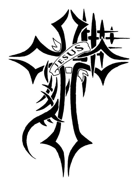 jesus on cross tattoo designs jesus cross request ver 2 fill by waruijanai