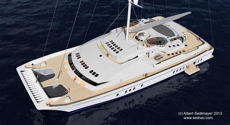 catamaran sailing world world s largest sailing catamaran design to be presented