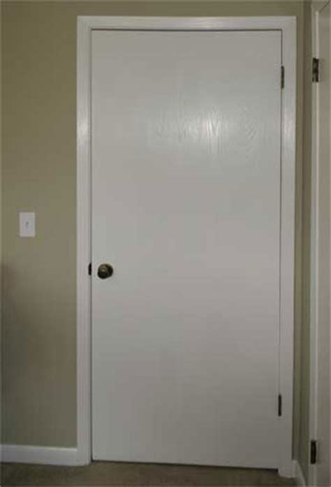 Plain White Interior Doors Door Flat