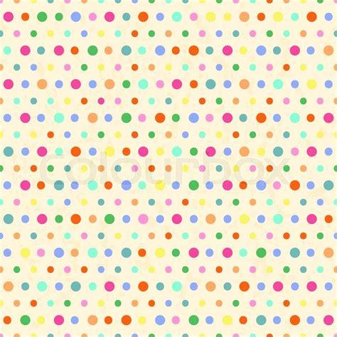 retro polka dot pattern vector by heizel on vectorstock polka dots pattern vintage background stock vector
