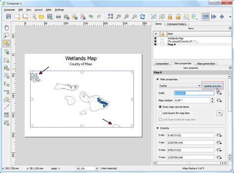qgis tutorial carte cr 233 ation automatis 233 e de cartes avec l atlas du composeur d