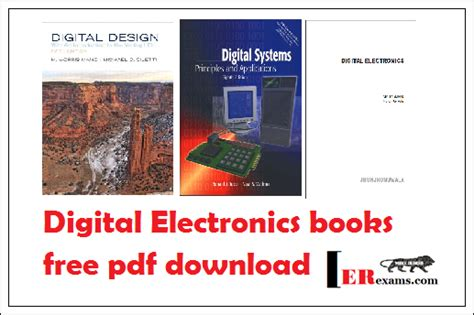 digital design basic concepts and principles books digital electronics books free pdf engineering