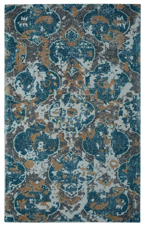 moroccan print rug barret printed loom moroccan damask green rug 5x8