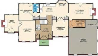 Free House Floor Plans by Free House Plan