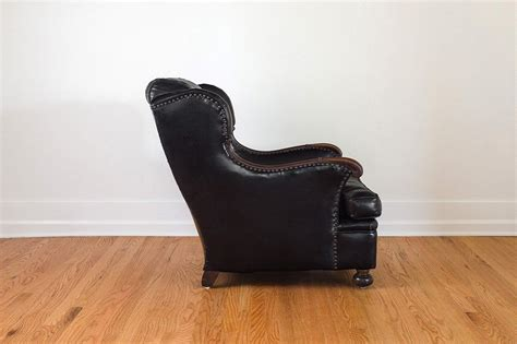 leather reading chair black leather reading chair homestead seattle