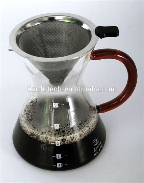 Dripper Two Drip Dripper Manual Brew Glass Stainless Stand selling exquisite manual drip glass coffee maker buy drip coffee maker stainless steel