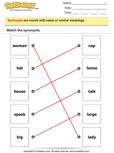 key pattern synonym noun and verb worksheets abitlikethis