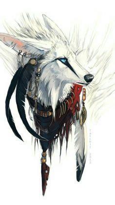 henna tattoo hände waschen zeichnen wolf fantastische bilder wolf